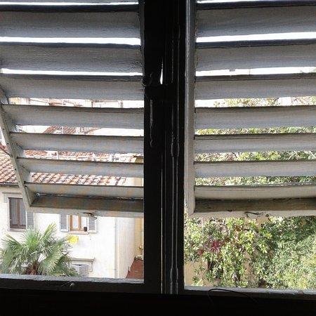 Bellevue House: A peek from my room's window
