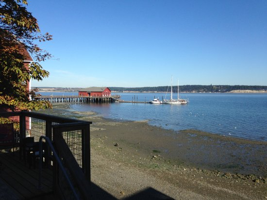 Coupeville, WA: View of Penn Cove from restaurant