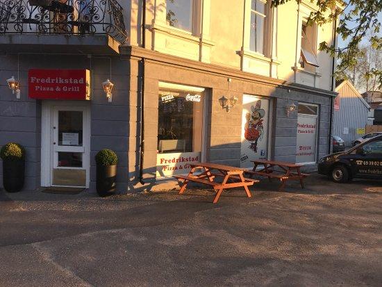 Fredrikstad Municipality, Norway: Fredrikstad pizza