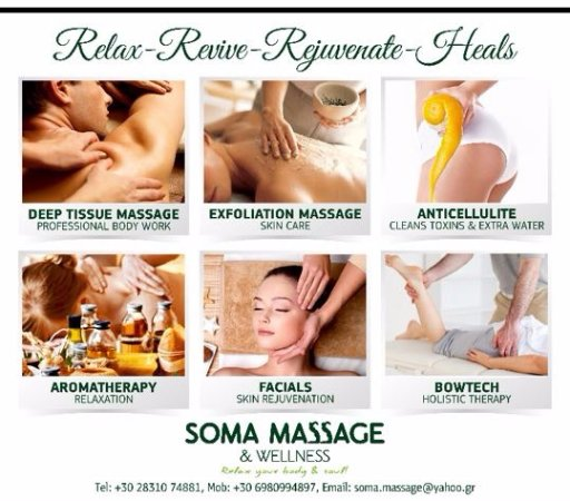 Soma Massage: Relax-Revive