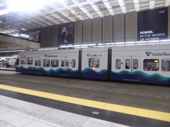 Link light rail - Picture of Seattle Light Rail Service, Seattle