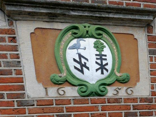 Hotel Restaurant Van der Maas: Meerdere huizen dateren uit de 17e eeuw.
