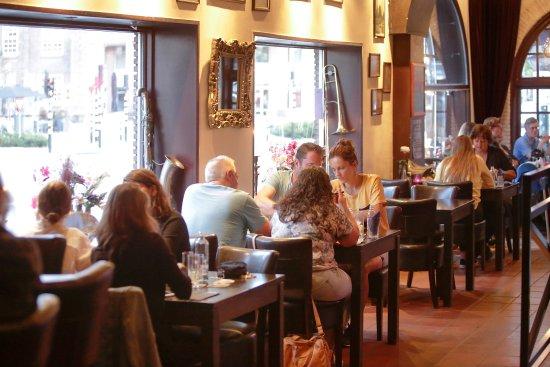 Valkenswaard, Niederlande: Eten in het grandcafe
