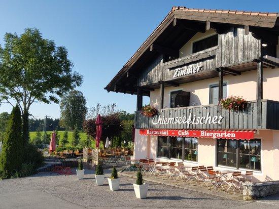 Grabenstaett, Germany: Hotel von außen