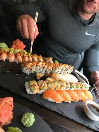 Sushi deluxe!