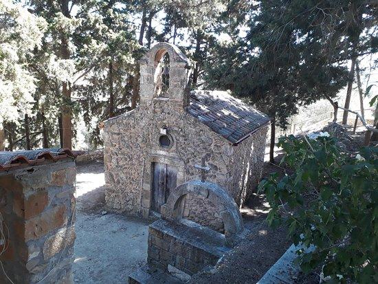 Spilia Village Hotel: Church in Spilia village