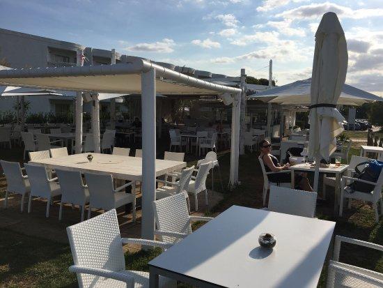 Muro, Spain: Einer der Tische