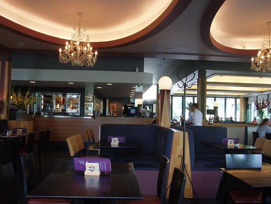 Malle, Belgique : Binnenkant van het Café in september 2017