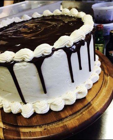 K Restaurant Irish Car Bomb Guinness Chocolate Cake Baileys Buttercre