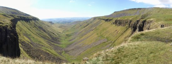 Cumbria, UK: Panoramic View from High Cup Nick