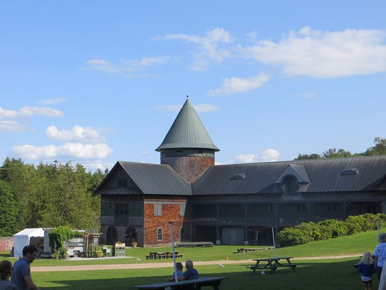 Shelburne, VT: Une section de la ferme