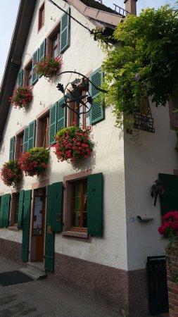 Mittelhausen, Frankreich: Eingang