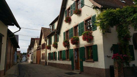 Mittelhausen, Frankreich: Front