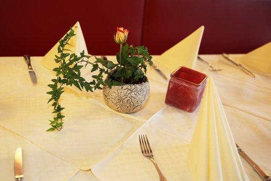 Munderfing, Австрия: Nichtraucherrestaurant - Detail