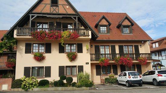 Mittelhausen, France : Aussenansicht