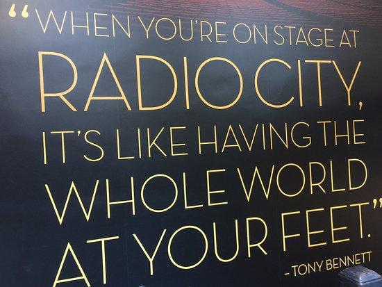 Radio City Music Hall Stage Door Tour : photo1.jpg