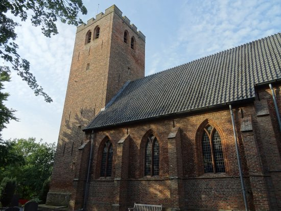 -Rijksmonument Kerk aan Zee Muiderberg-uit 1500-1686-