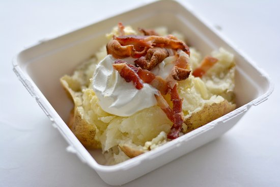 Hobart, IN : We offer soup and baked potatoes seasonally!