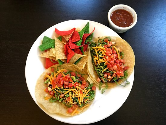 Soft Chicken Tacos At Panini Restaurant Picture Of