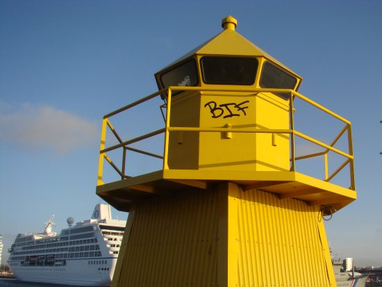 Reykir, Iceland: Il faro ...