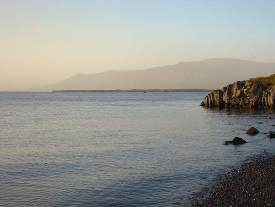 Reykir, Island: Tramonto ...