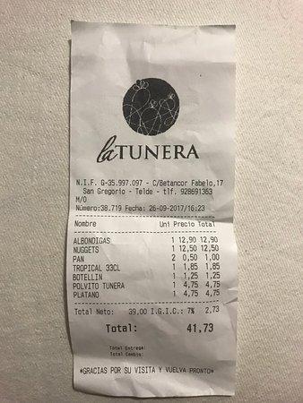 La Tunera صورة فوتوغرافية