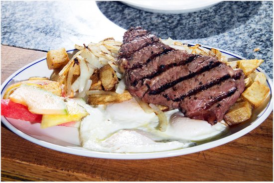 Casselberry, FL: Steak and Eggs