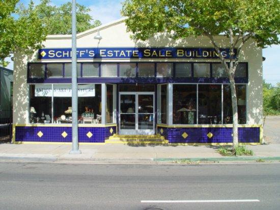 Schiff's Estate Sale Building