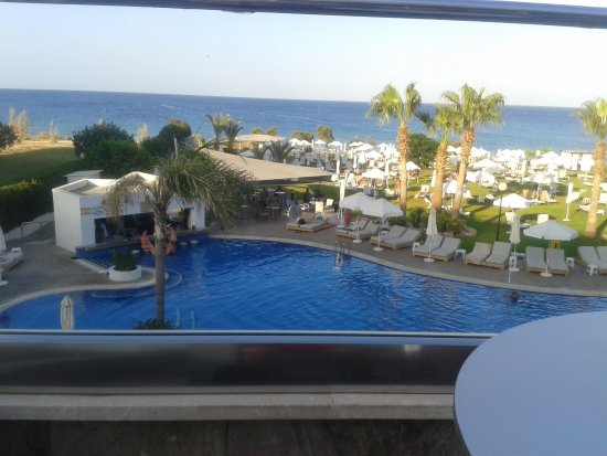 Atlantica Sea Breeze Hotel: Taken from the terrace next to the lounge