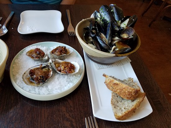 Coupeville, WA: appetizers at Oystercatcher