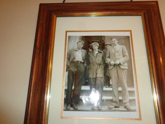 Rose Manor Inn: Amelia Earhart room