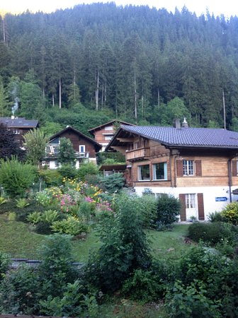 Zweisimmen, Швейцария: Sweet neighborhood hotel - quiet hotel - clean.
