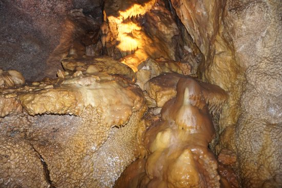 Jewel Cave National Monument: Flow stone