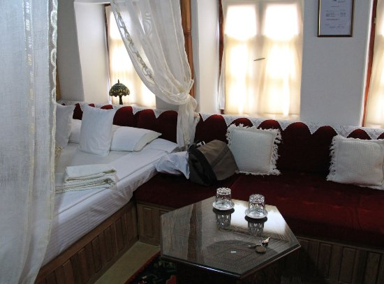 Bosnian National Monument Muslibegovic House Hotel: One of our rooms at Muslibegovic House in Mostar, Bosnia-Herzegovina