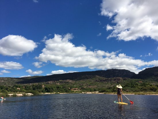 Andarai, BA: Stand Up Paddle na Chapada Diamantina