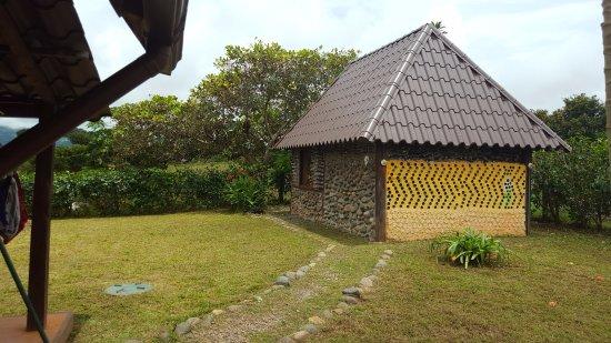 Las Lajas, Panamá: Glass cottage