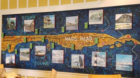 Fish Wall Picture Of Jennette's Pier Nags Head Tripadvisor Wall Art
