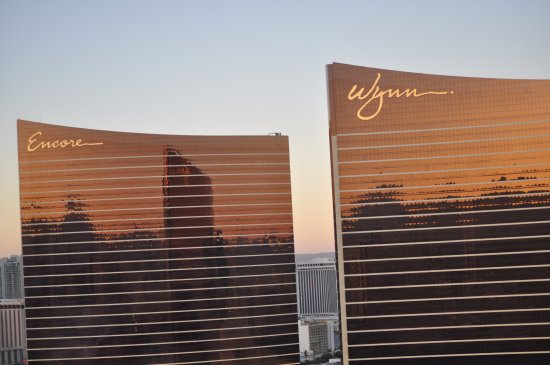 Encore At Wynn  Las Vegas: A view from the TI across the street.