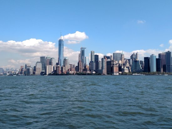 Taken From The Ferry Boat To The Statue Of Liberty Picture
