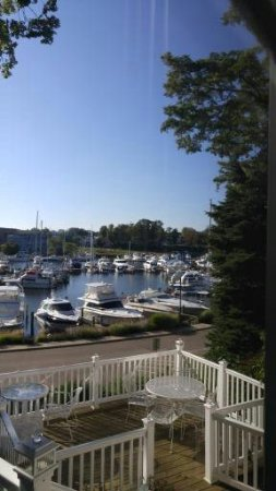 Carriage House at the Harbor: The view from our deck!