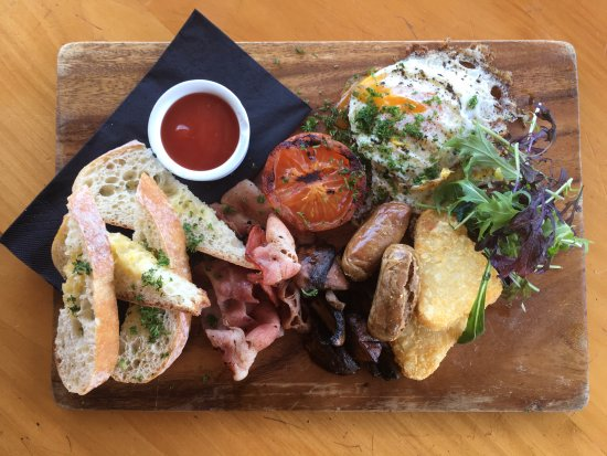 Fortrose, Neuseeland: A Big Breakfast will set you up for the day!
