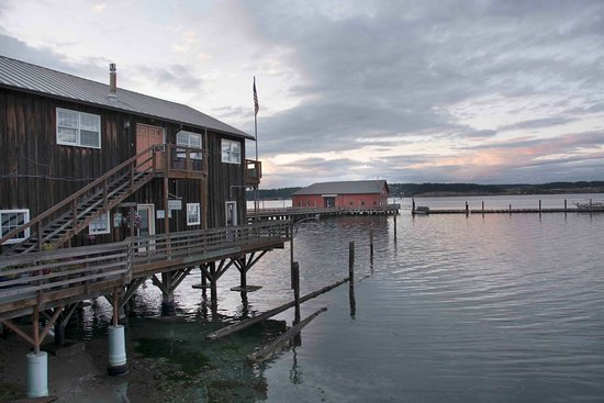 Coupeville, WA: Nice location on the bay