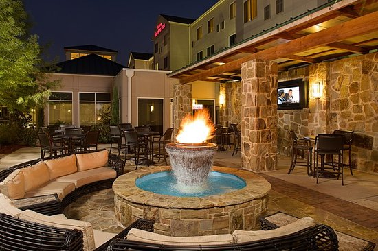 Irving, TX: Patio Area Fire Pit