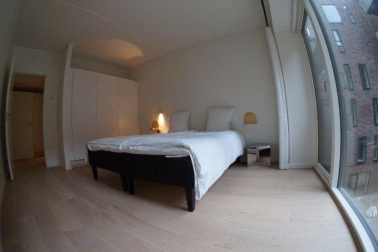 STAY Seaport: 2 Bedroom Apt   Master Bedroom