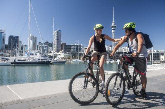 Auckland City Self Guided Bike tour