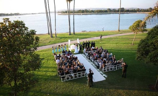 The Dana on Mission Bay, BW Premier Collection: Ceremony Site on the Sunset Lawn
