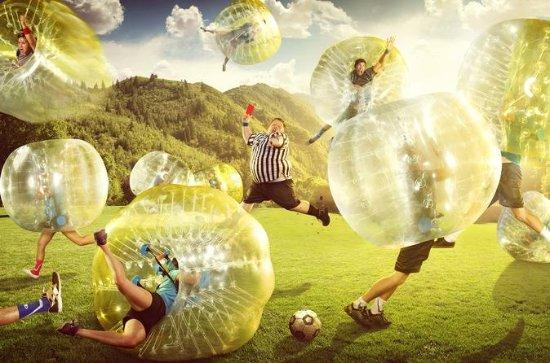 Bubble Football em Amsterdã