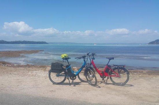 Excursión en bicicleta por la isla...