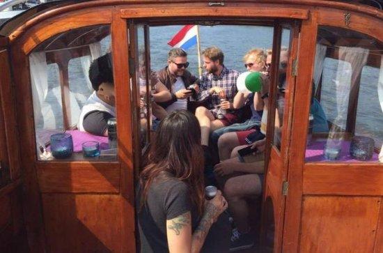 Amsterdam Heineken Boat