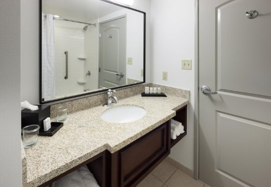Accessible bathroom tub picture of embassy suites by for Bathroom suites direct